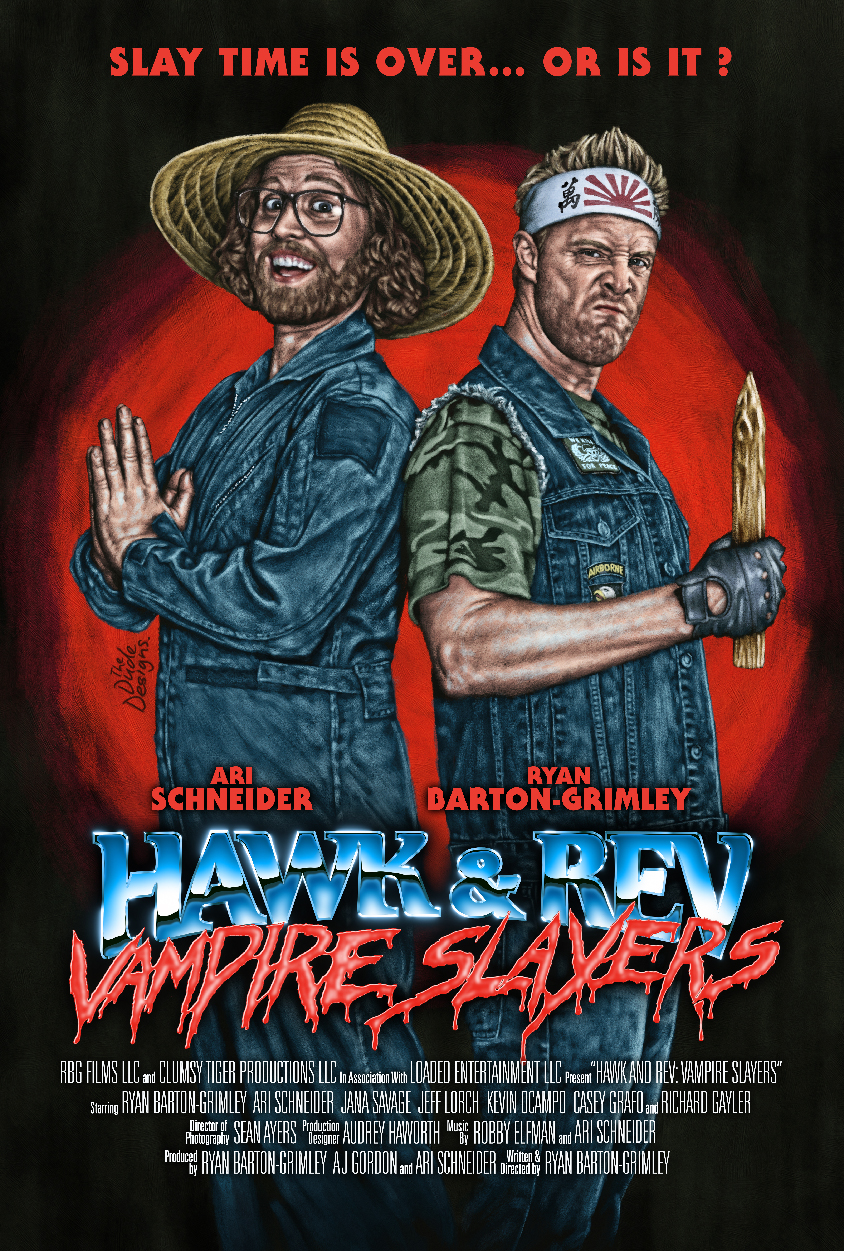 Hawk and Rev - Official Poster