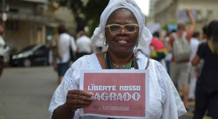 Credit: Campanha 'Liberte Nosso Sagrado'