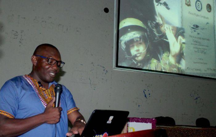 Kenny Castillo Fernández, periodista e investigador garífuna.