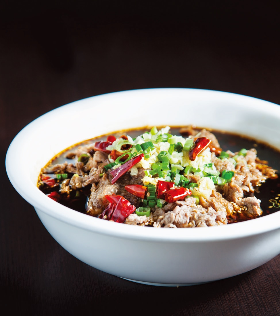 Hot & spicy fatty beef soup