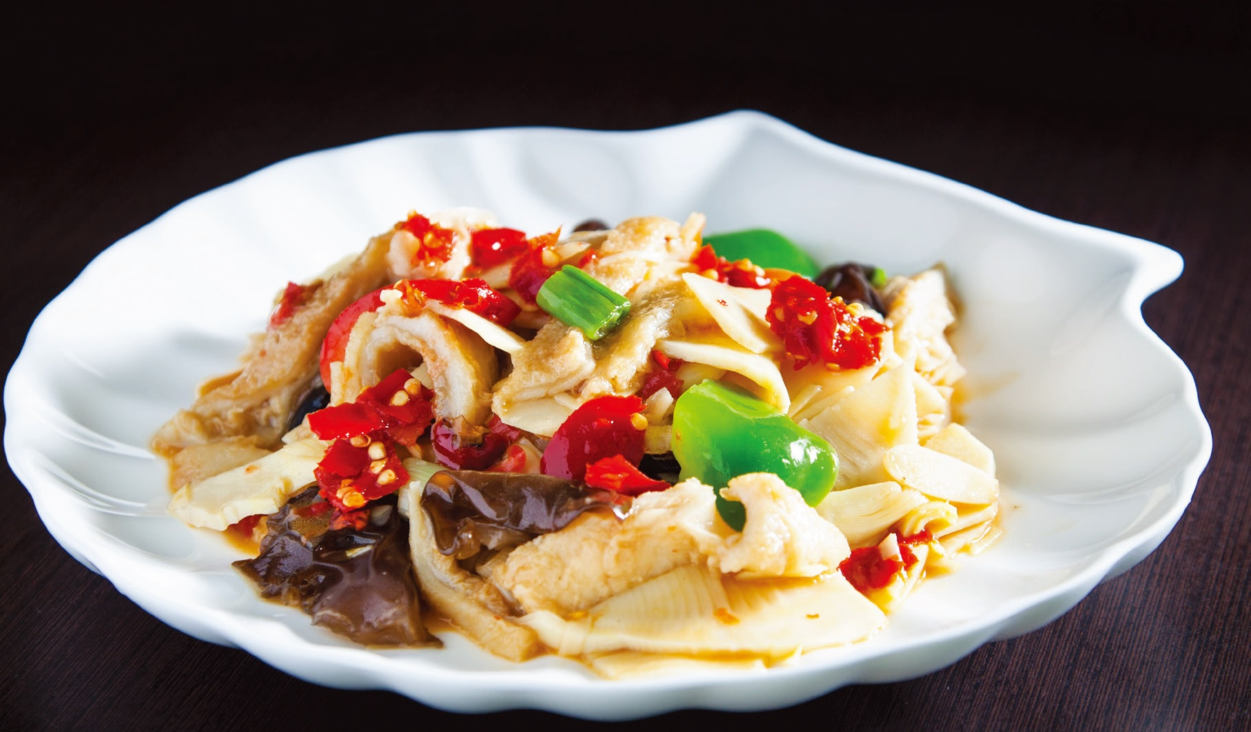 Stir fried ox tripe