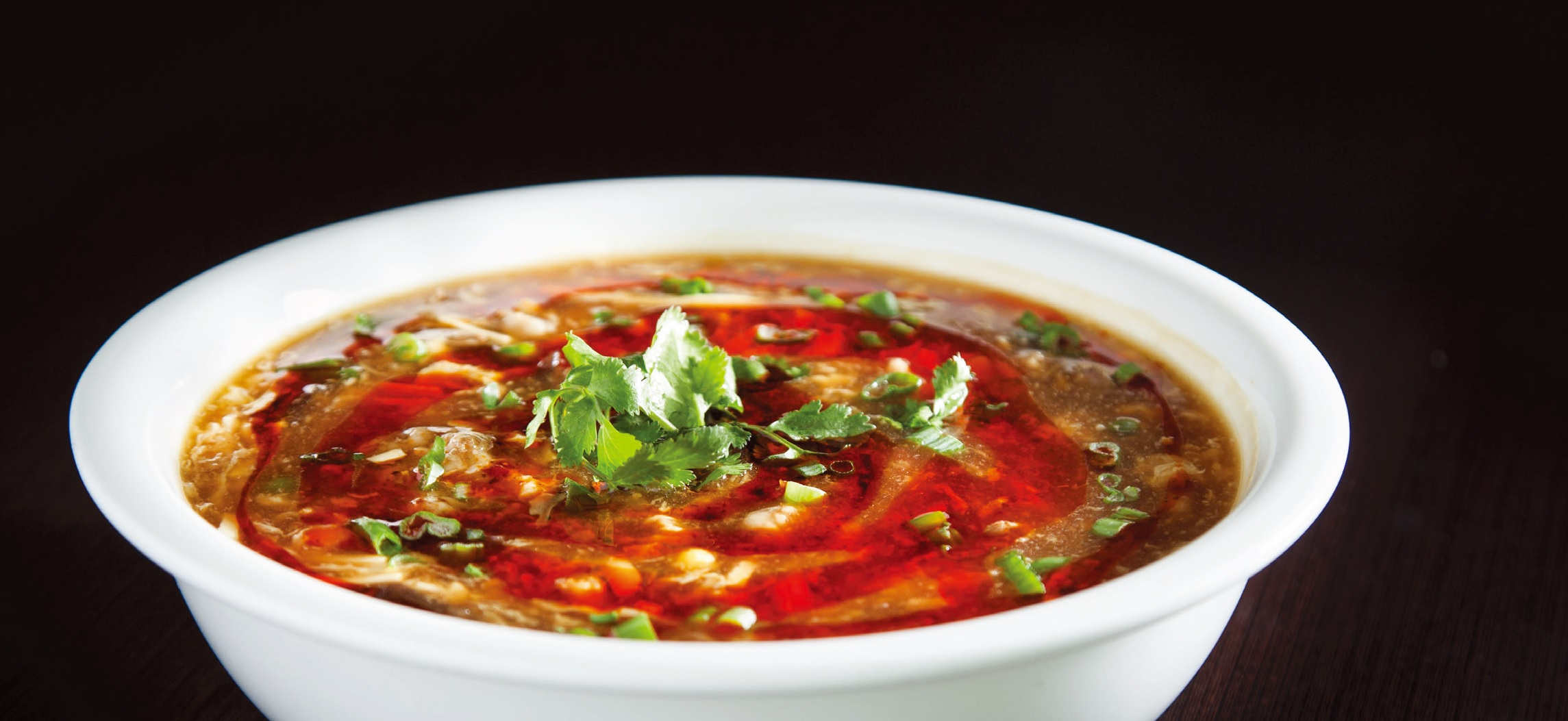Hot & sour lamb soup