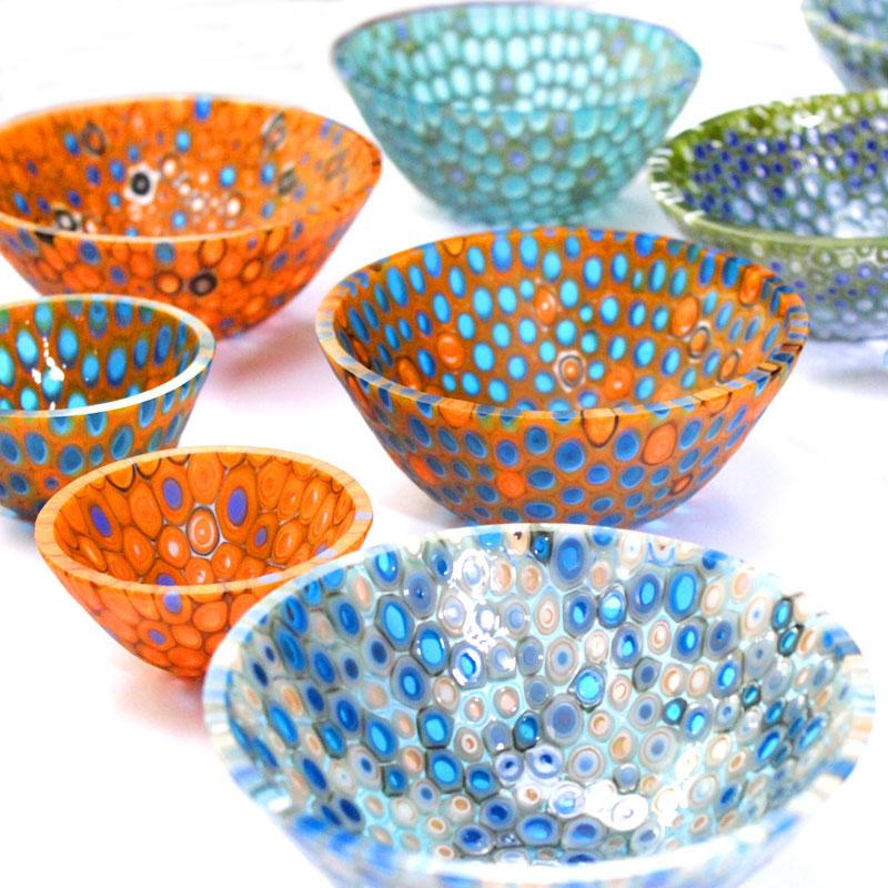 Vitrigraph Murrini Bowls