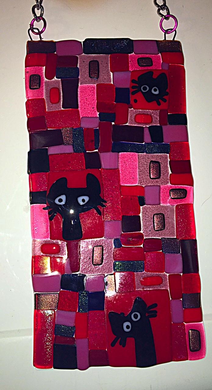 Fused Mosaic Suncatchers