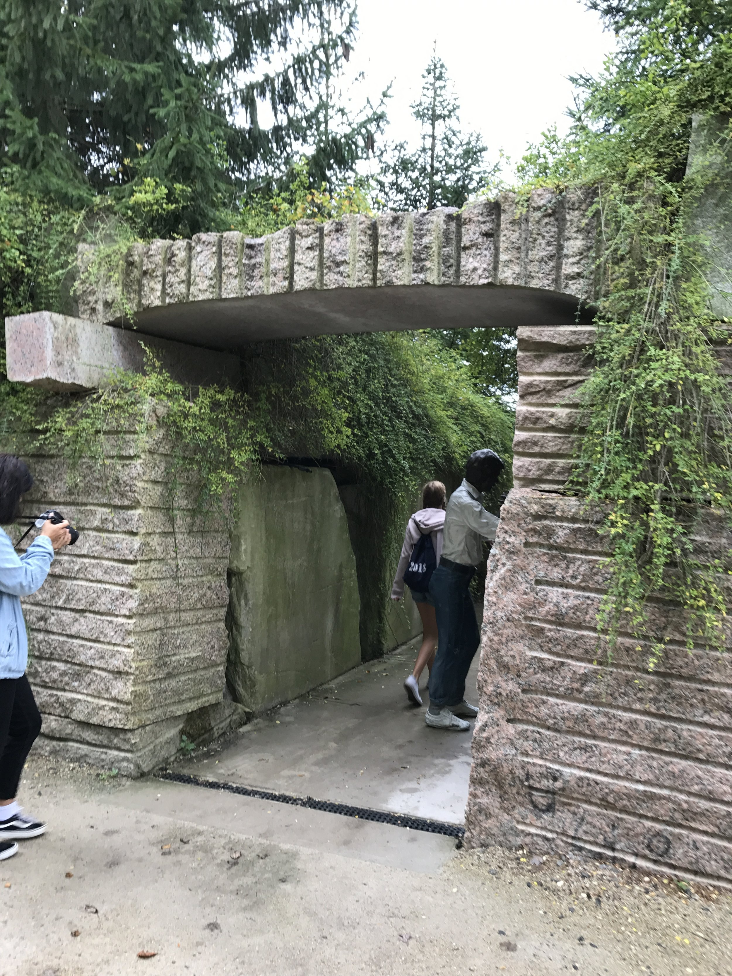 Cool stone gate