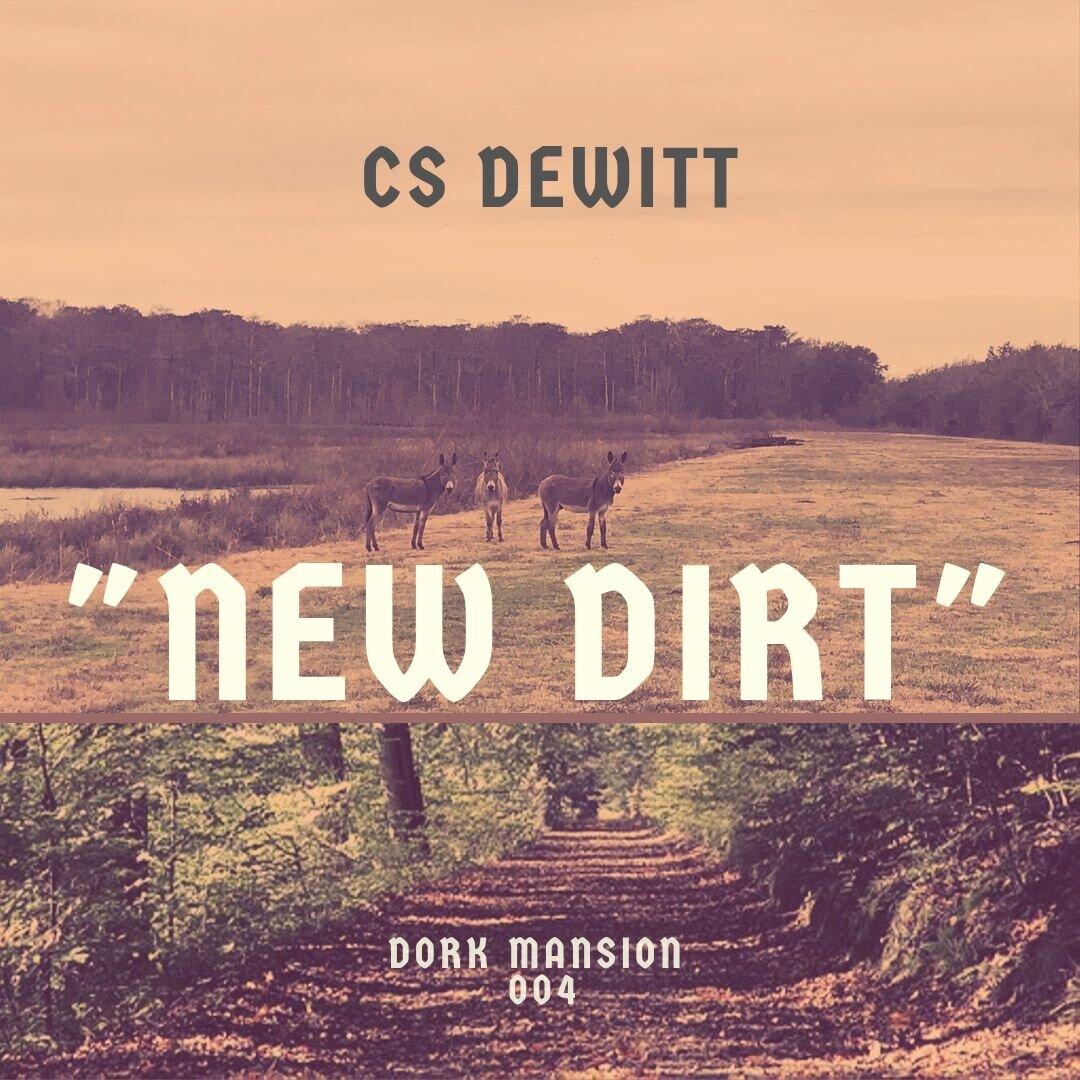 """""""New Dirt"""" (September 2019) released on Dork Mansion Records."""