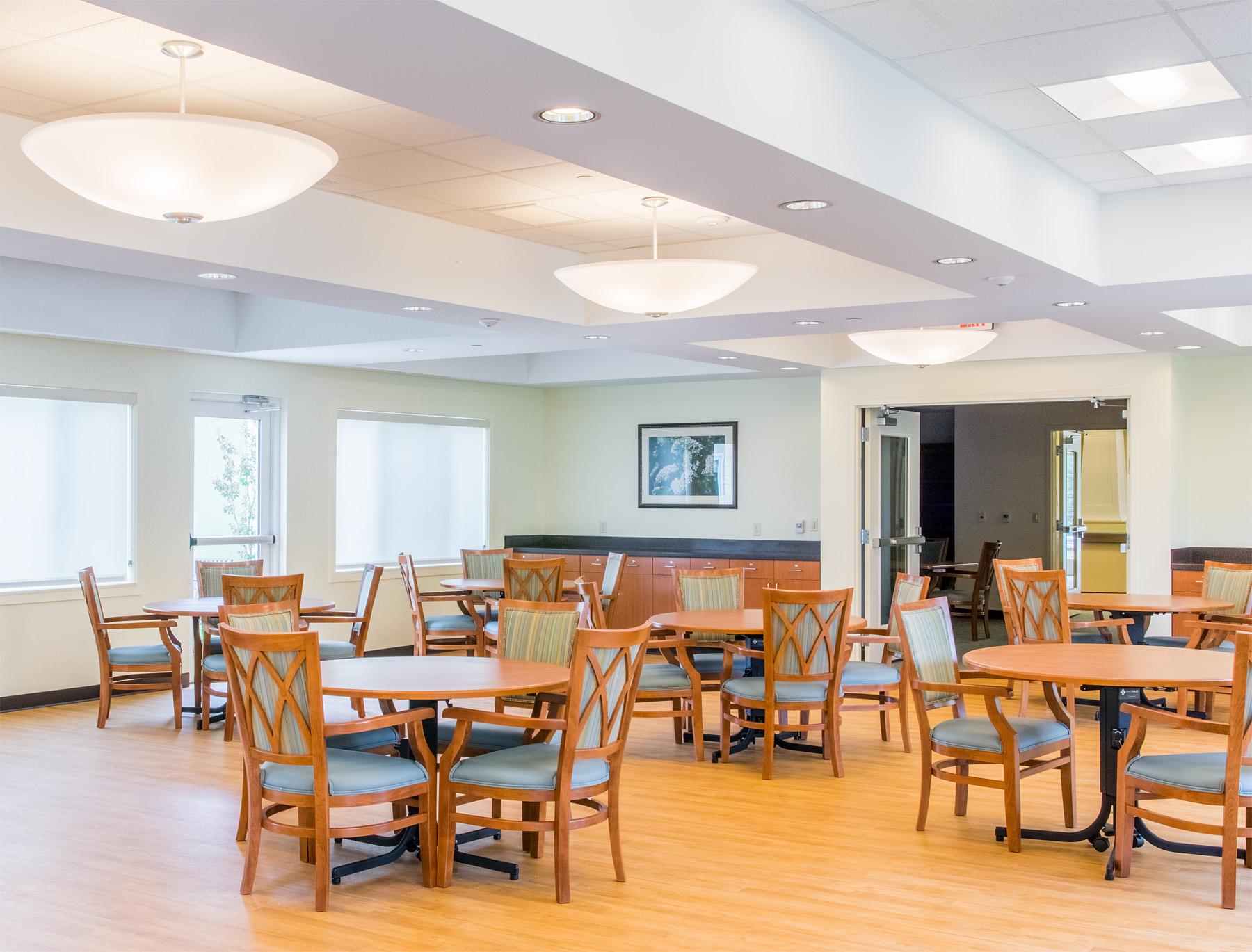 Dining Room  Doctors Community Rehabilitation and Patient Care Center Lanham, Maryland