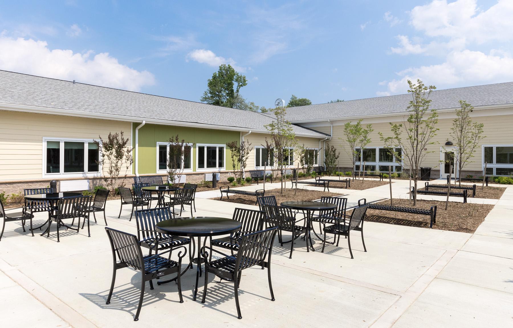 Patio  Doctors Community Rehabilitation and Patient Care Center Lanham, Maryland