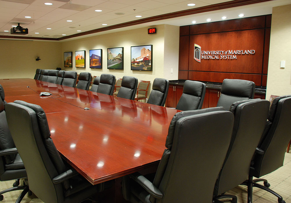 Board Room  University of Maryland Medical System Baltimore, Maryland