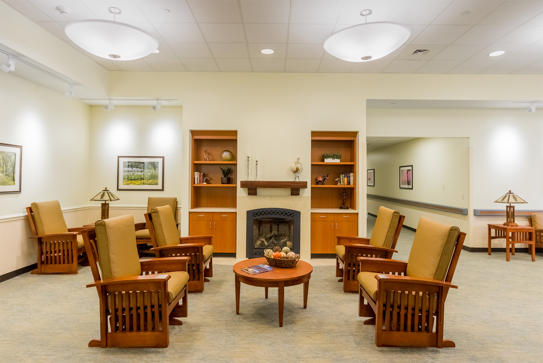Living Room  Doctors Community Rehabilitation and Patient Care Center Lanham, Maryland