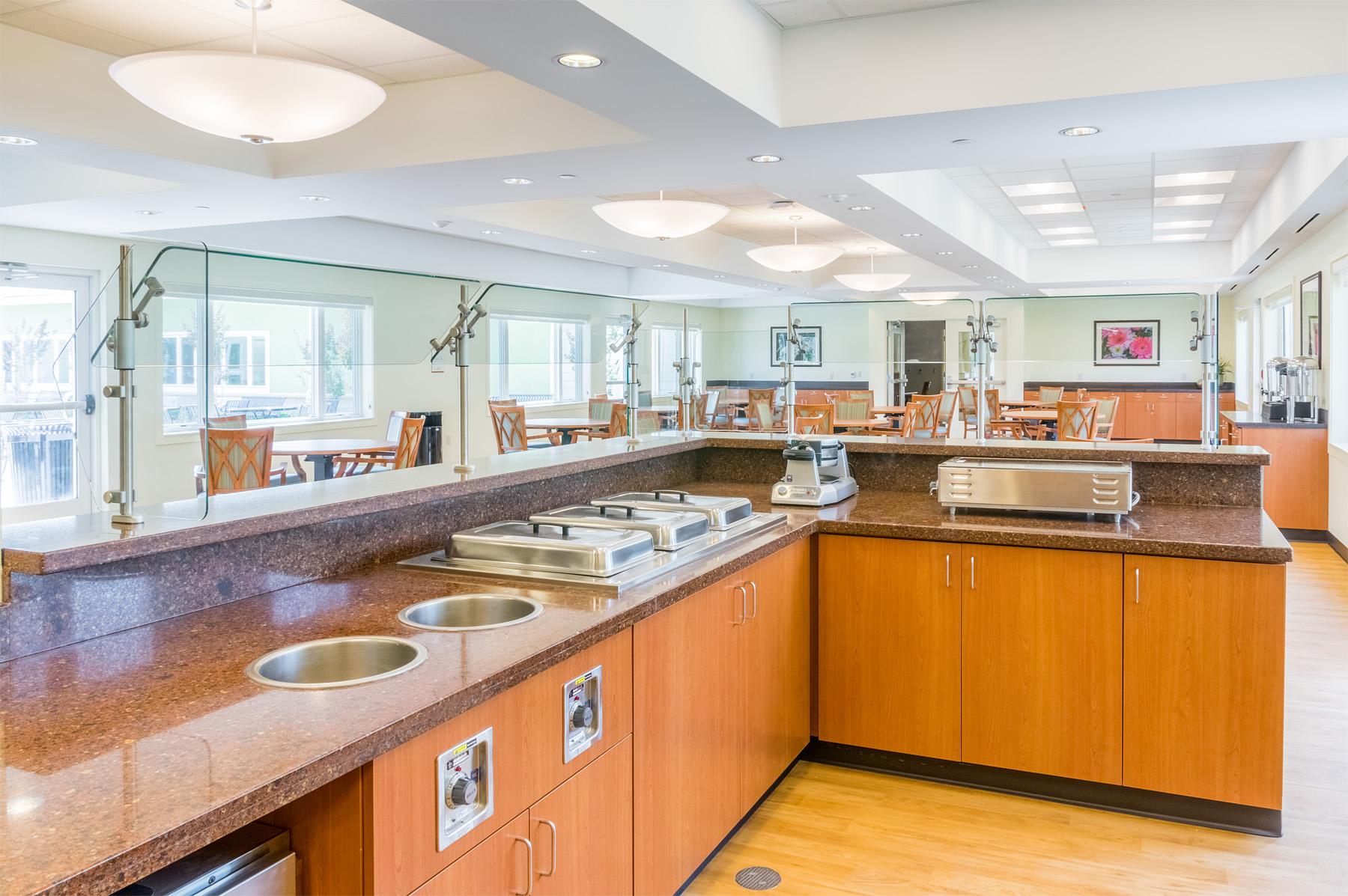 Cafeteria  Doctors Community Rehabilitation and Patient Care Center Lanham, Maryland