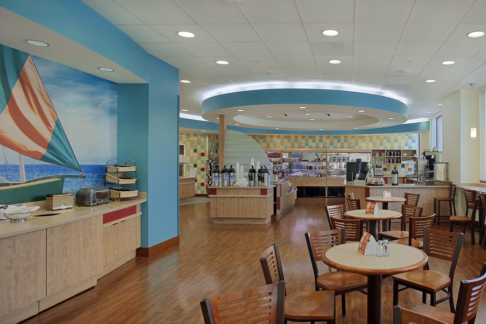 FOOD SERVICE    CRGA has extensive experience with food service design within healthcare and senior living facilities. We recognize the importance of creating a welcoming environment for patients, residents, families and staff that provides nourishment through quality foods and offers a relaxing space to reflect and re-energize during one's time in the space.