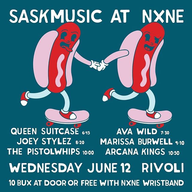 Pumped to be back in TO with some friends! . . Thx @saskmusic @creativesask