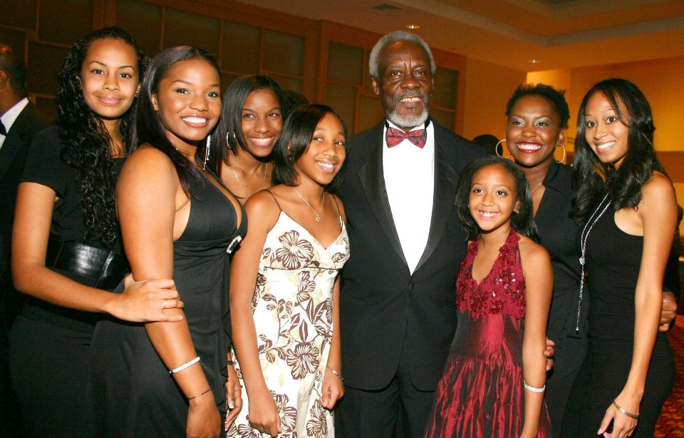 Contestants with Former Prime Minister of Jamaica Hon. P.J Patterson, ON, PC, QC