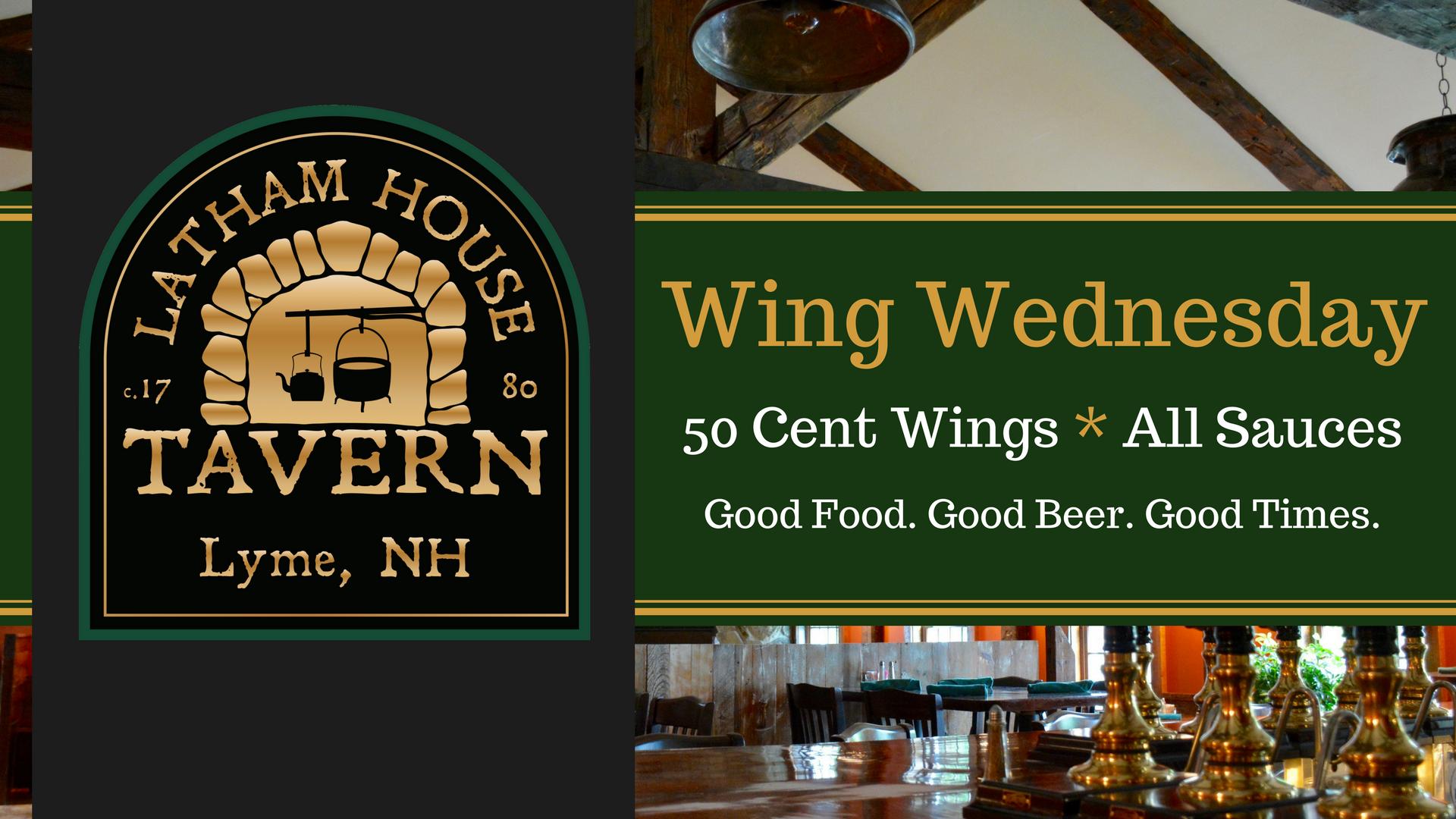 Wing Wednesday - Latham House Tavern