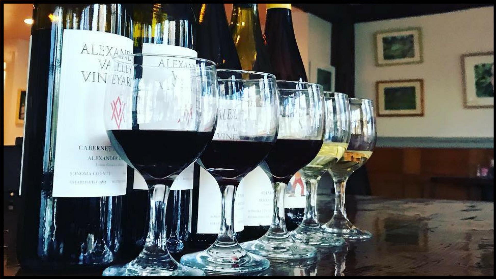 Alexander Valley Vineyards Wine Dinner at The Latham House Tavern