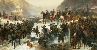 Prussian Army entering France in 1814