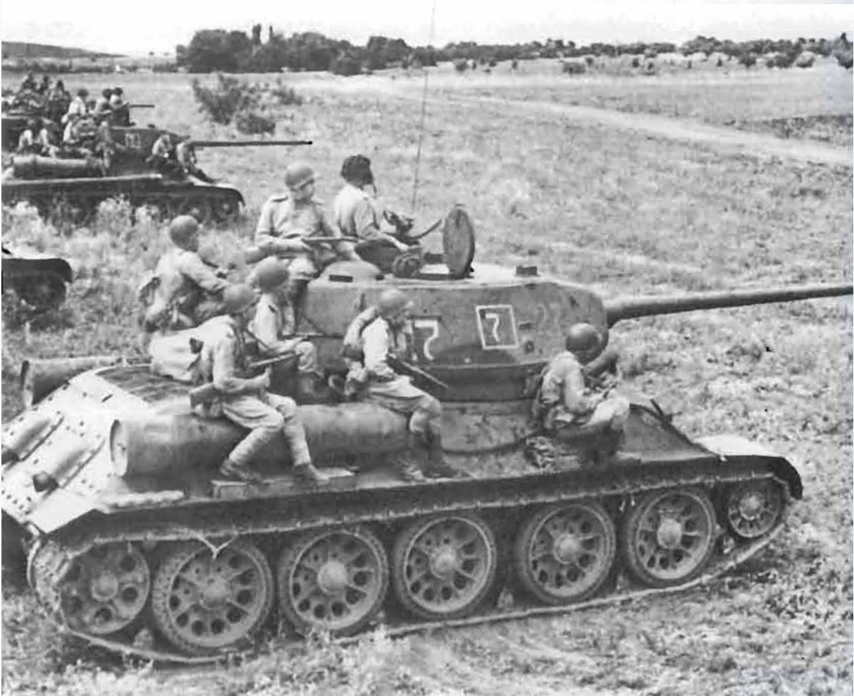 Classic Mech Corps operation in Rumania with 4th Guards Mech Corps in late 1944