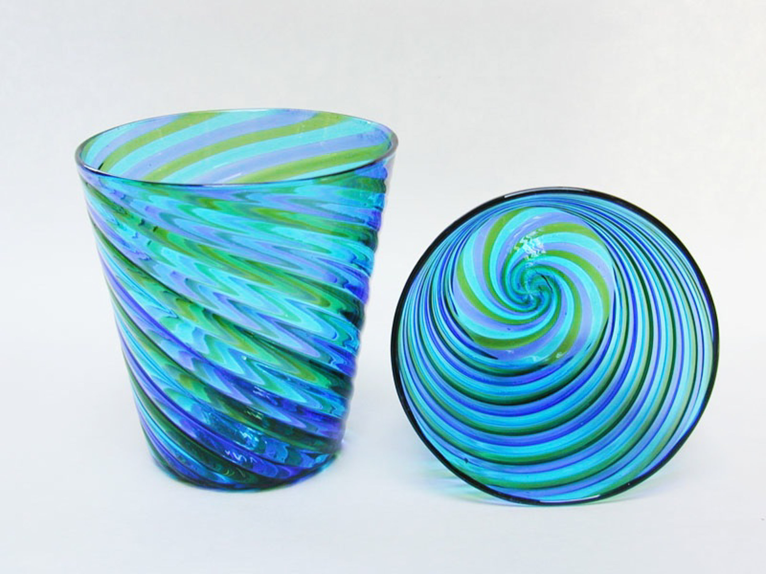 Copy of Blue, Green Cup