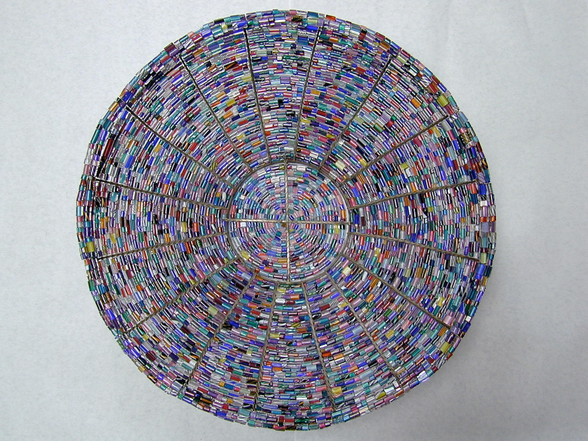 Large Beaded Bowl