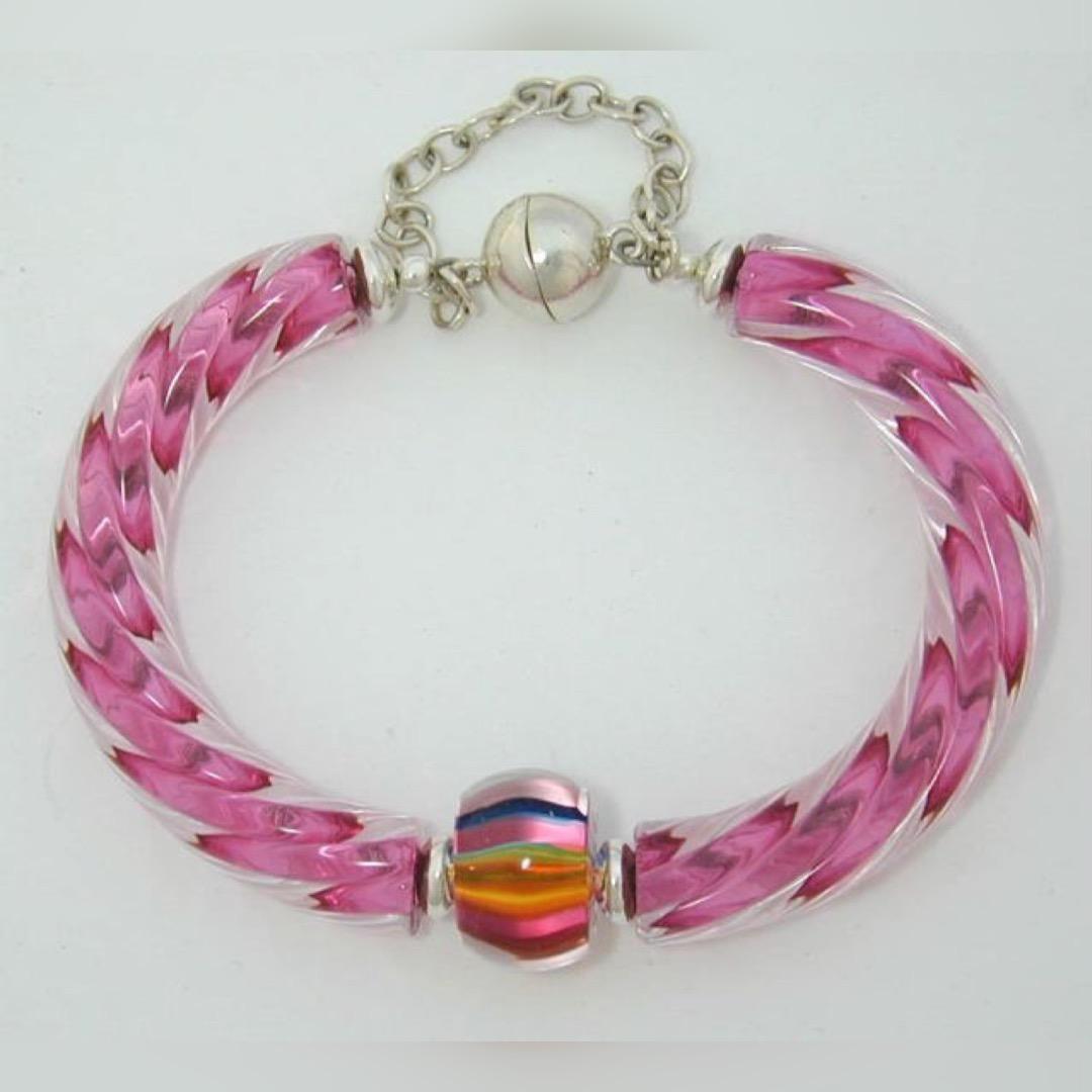 Gold Ruby/Full Spectrum Bracelet