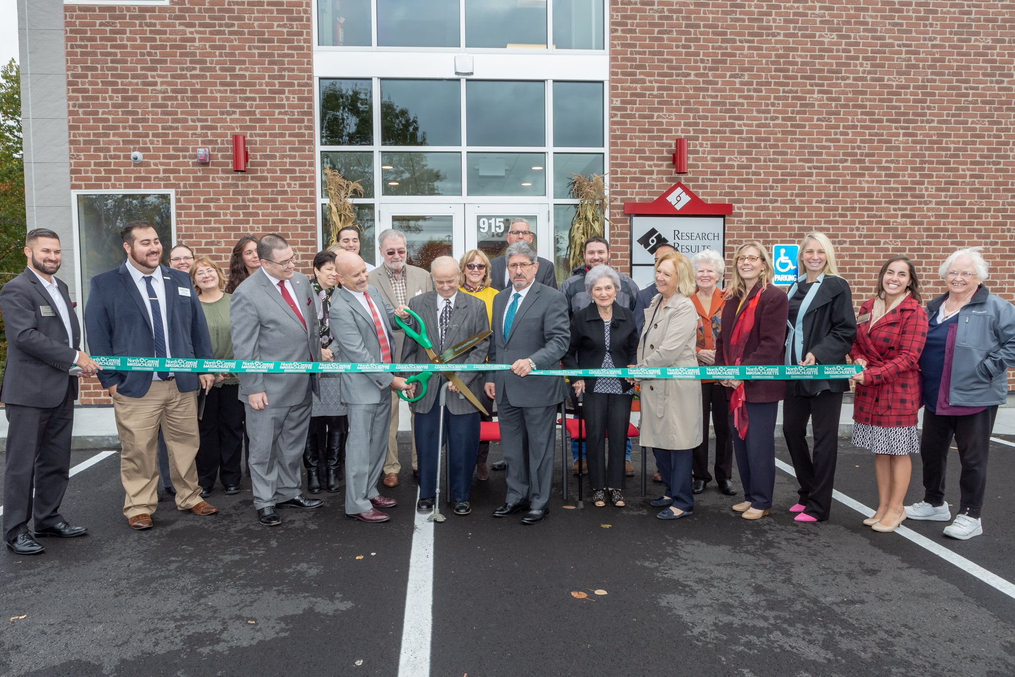 Ribbon Cutting for Research Results