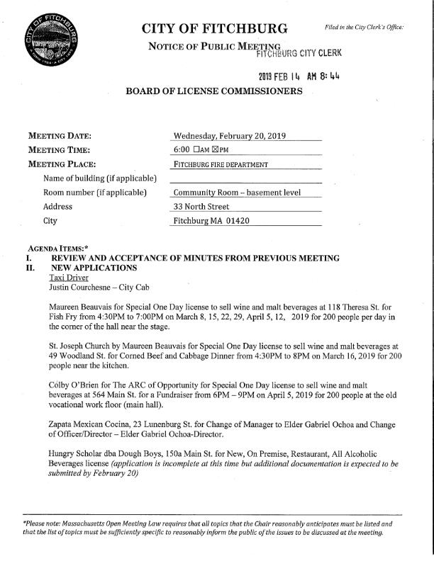 2019-02-20 License Commission Agenda_001.jpg