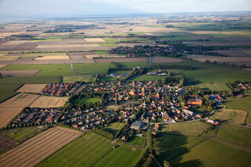 GMA is modeled on a european village with low carbon footprint.