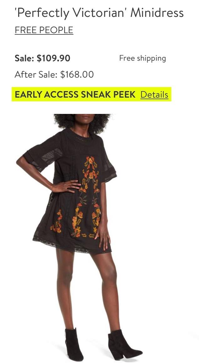*Free People Minidress