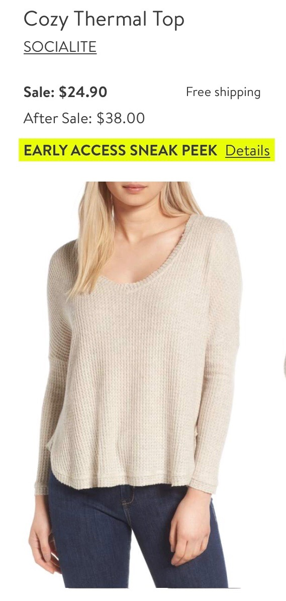 *Cozy Thermal Top