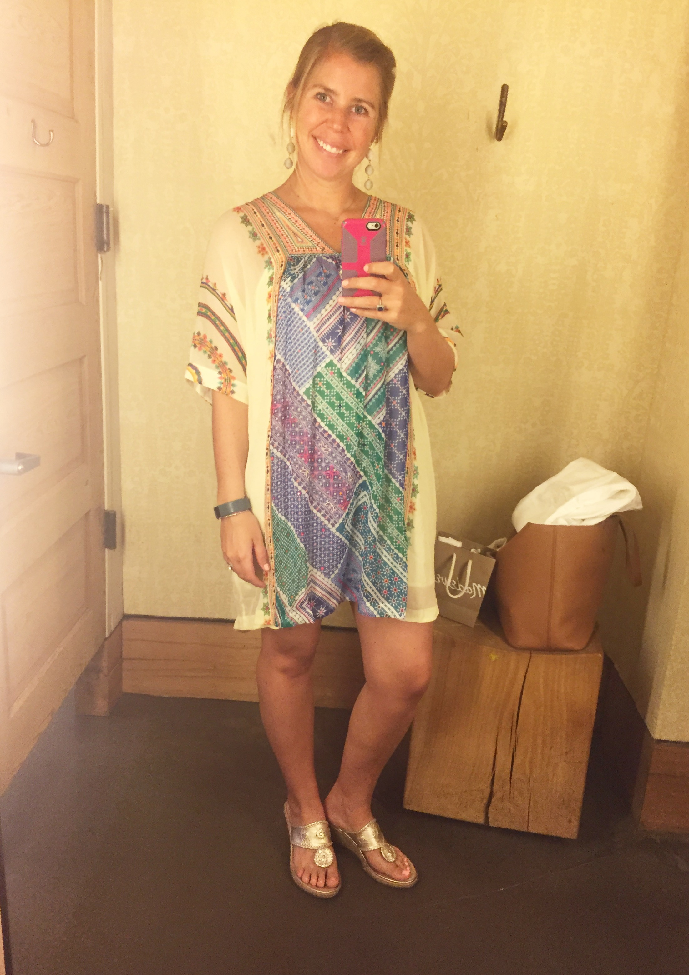 Beaded Caftan (marked down from $168 to $69.97!!!!)