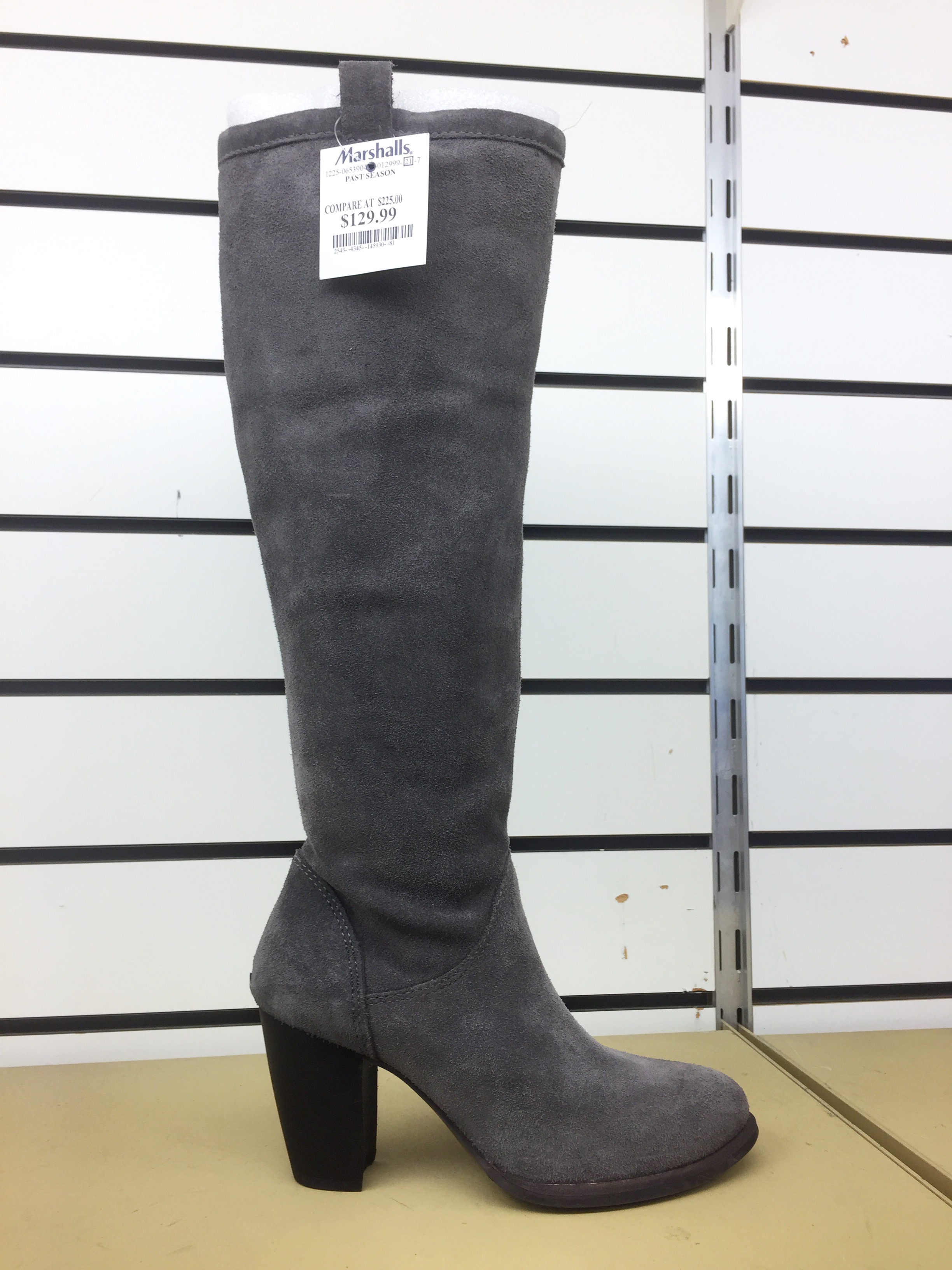 These Ugg boots   were not cheap, but they were way marked down. And I've been on the lookout for boots with a heel that are still comfortable. I can't imagine anyone making a more comfortable boot with a heel than Ugg.