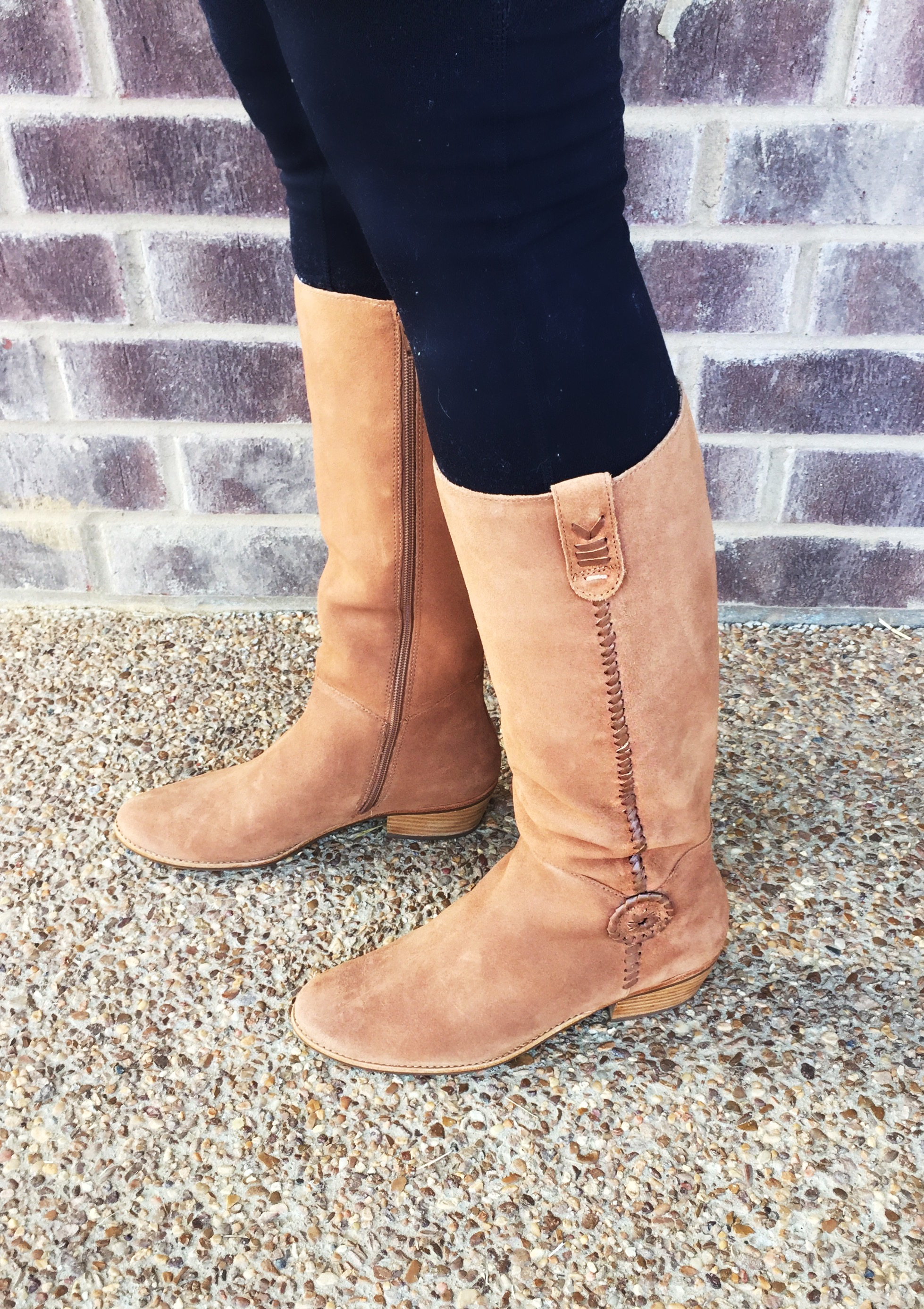 Sawyer Suede Boots (marked down from $198 to $99.99!)