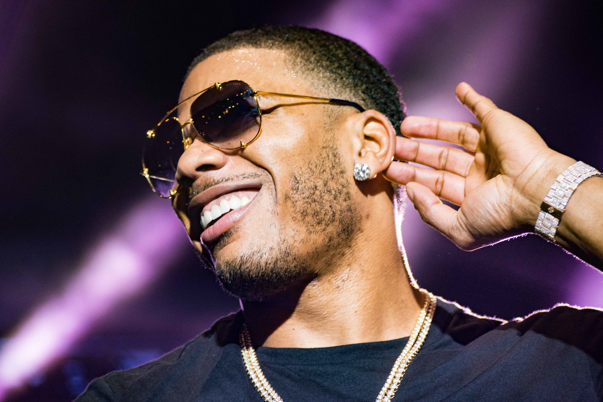 "Nelly played his hits, from ""E.I."" to ""Country Grammar."" (© Mike Rundle, 2017)"