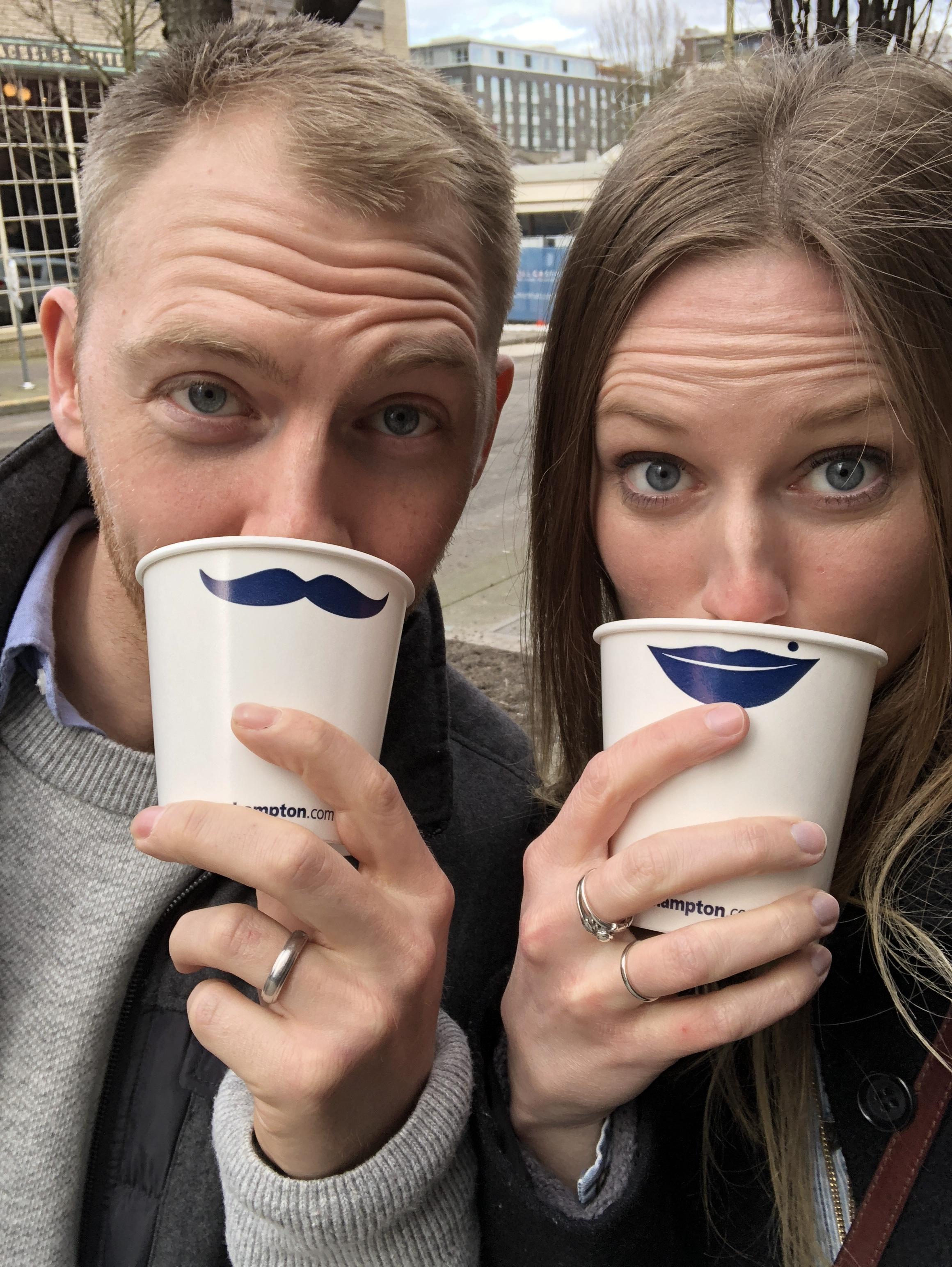 free coffee? we'll take it :)