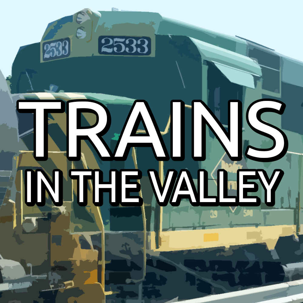 Trains in the Valley Logo