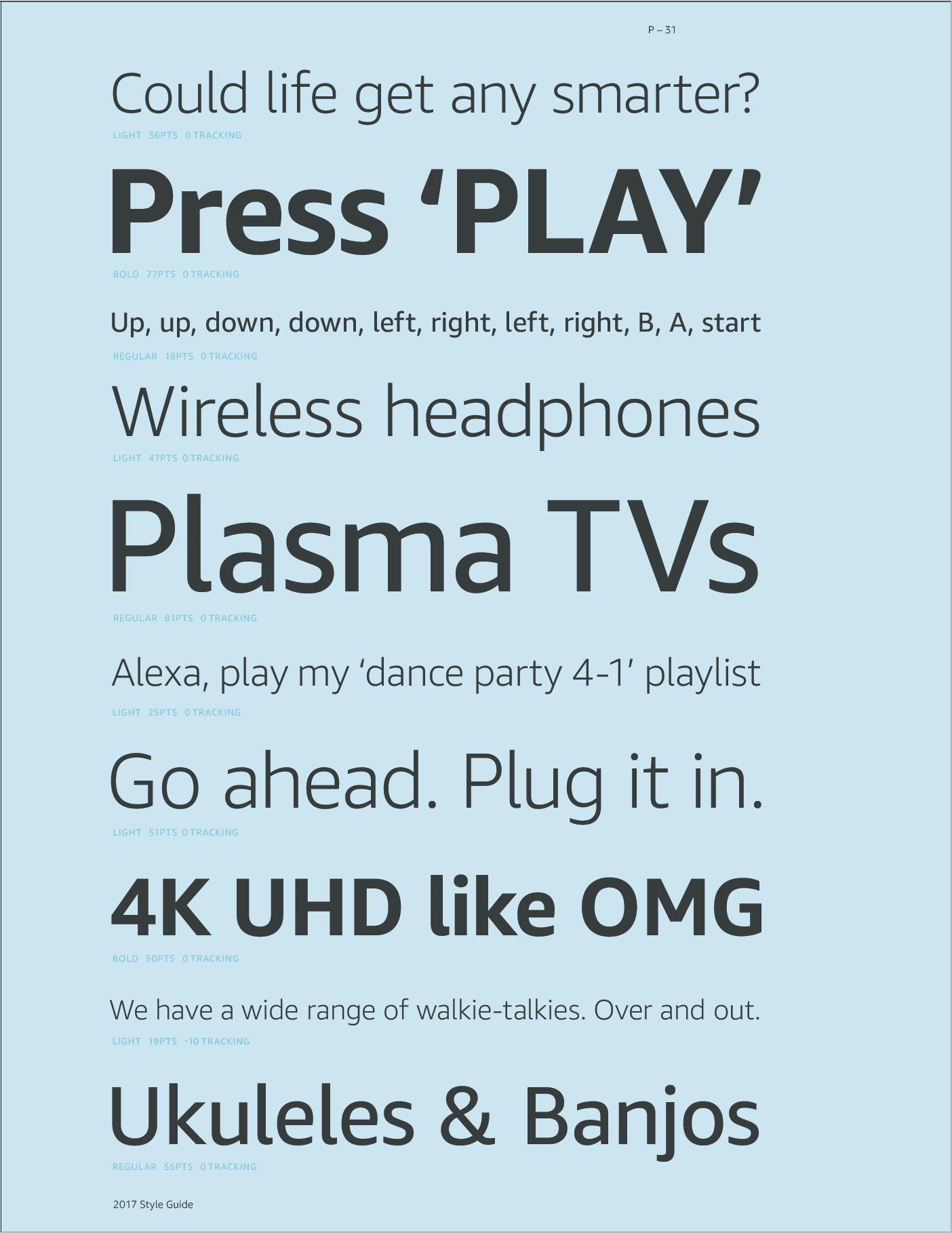 Mockup of the Amazon.com Consumer Electronics Showcase landing page.