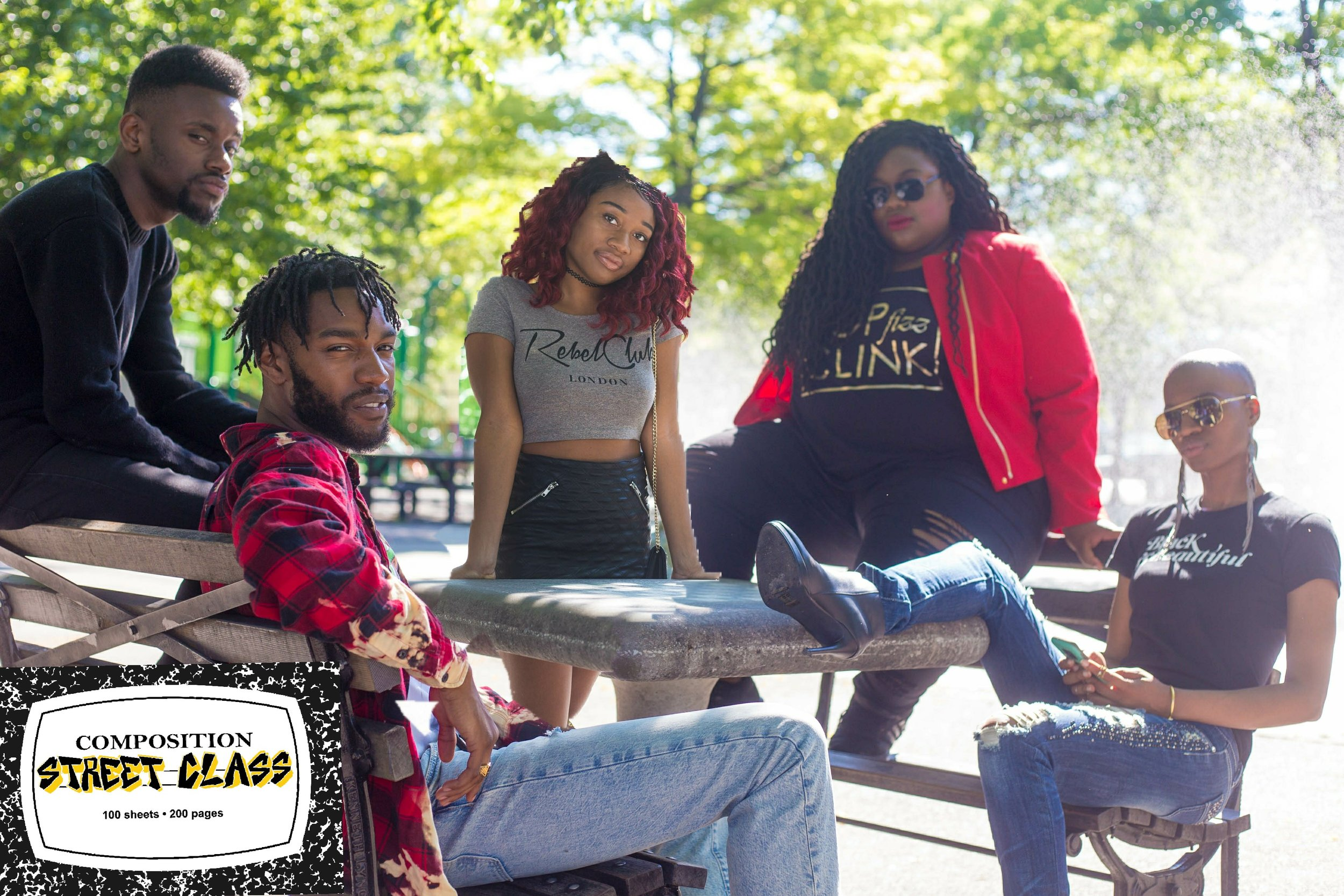 "Ain't nobody fresher than my Clique! Clique! Clique! Clique! Clique! Nneka XOXO, Jeanell Sunshine, Ray Morency, & David Bell have been newly added as co-hosts of Street Class Season 2.  Get ready for some tell it like it is, in yo' face, ""skrange"" debates on Street Class Season 2: The Student Shutdown."