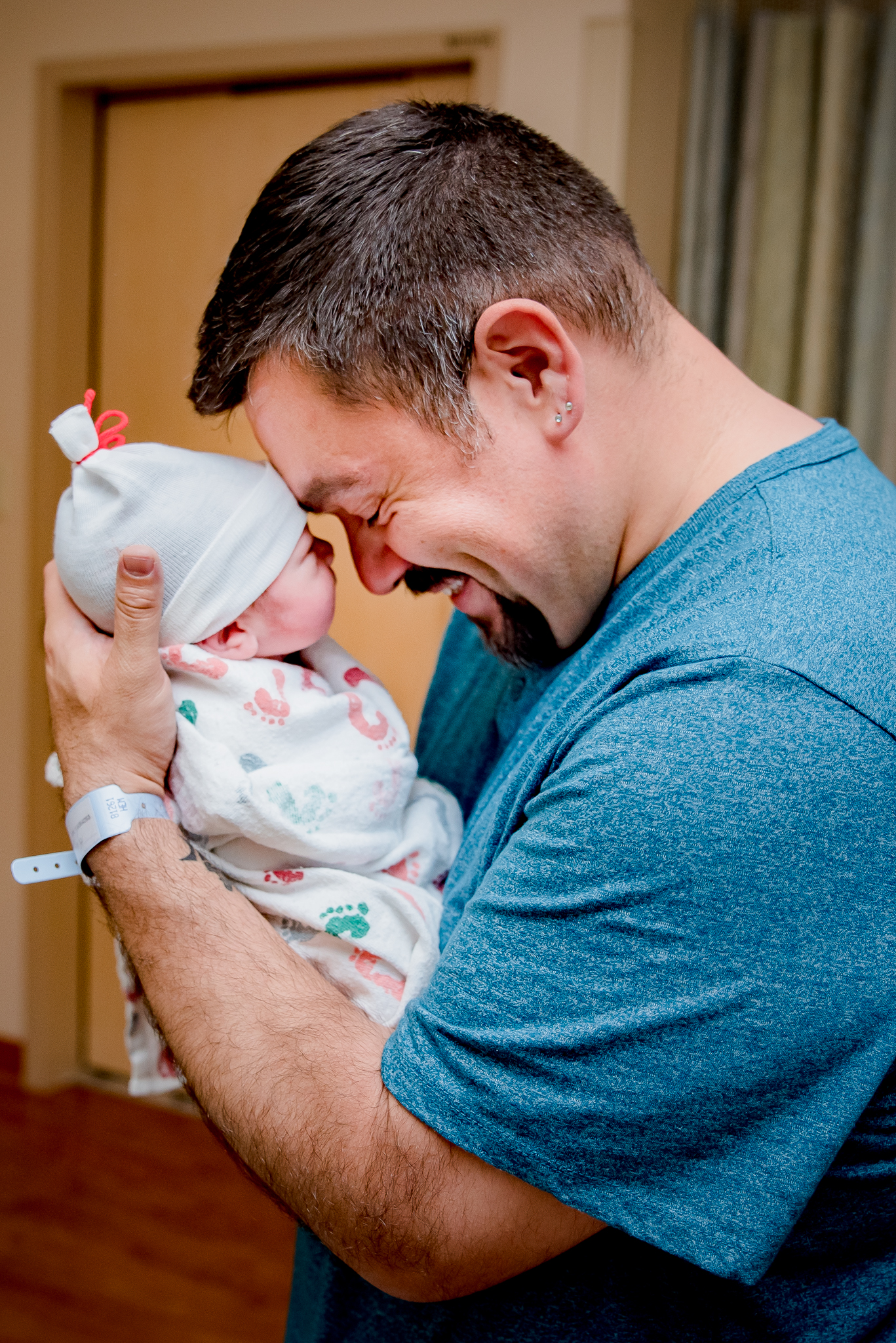 There is nothing better than holding your son for the first time!