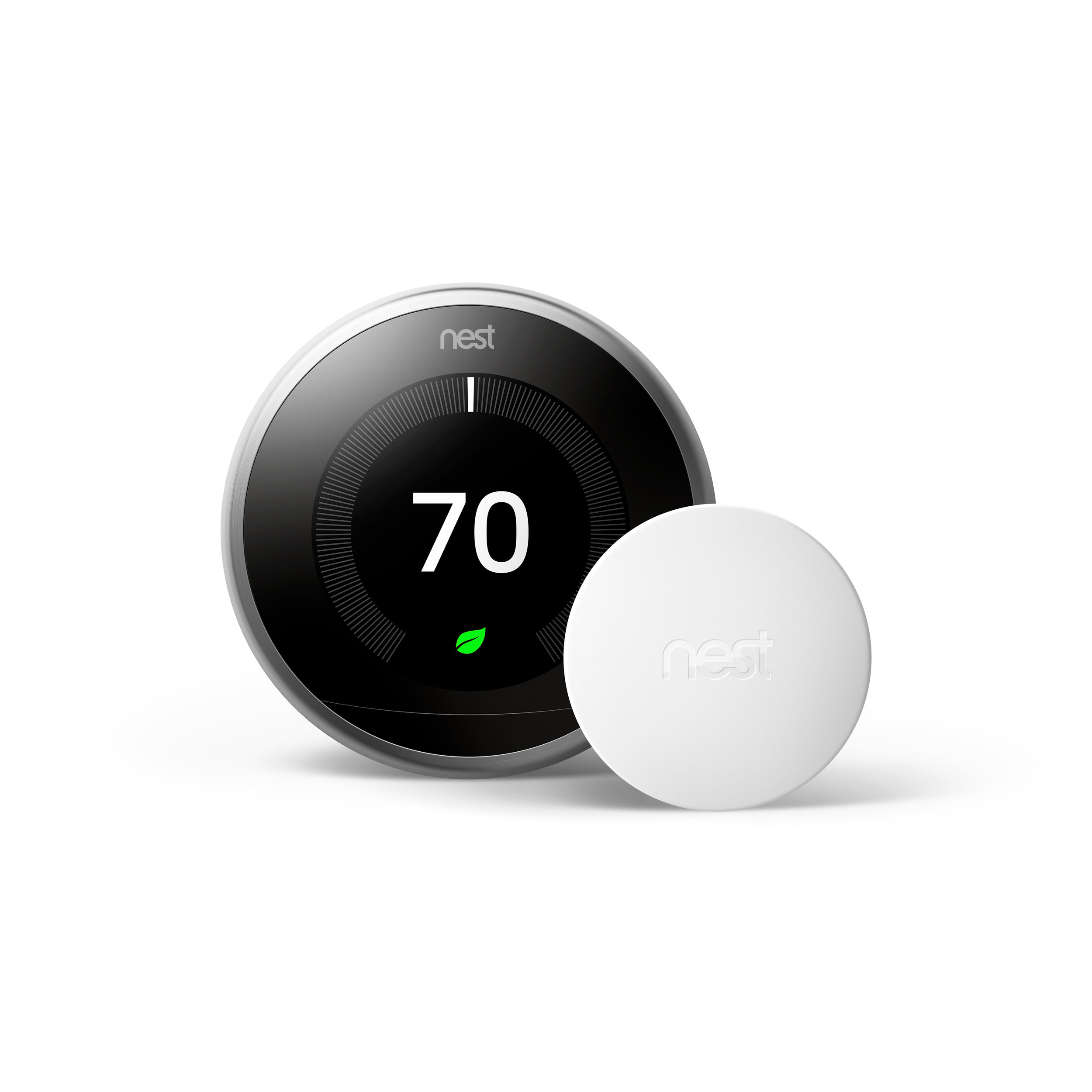 Nest Generation 3 Thermostat - With smart thermostat temperature sensor