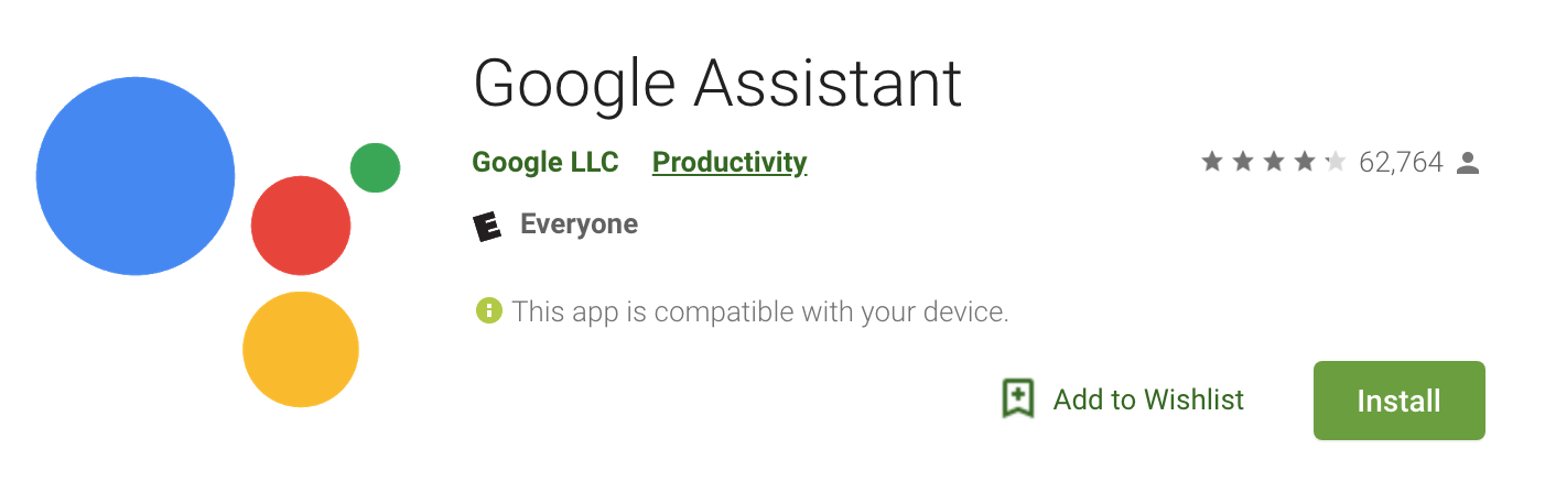 Google Assistant App: Required to control your nest smart lock with voice.