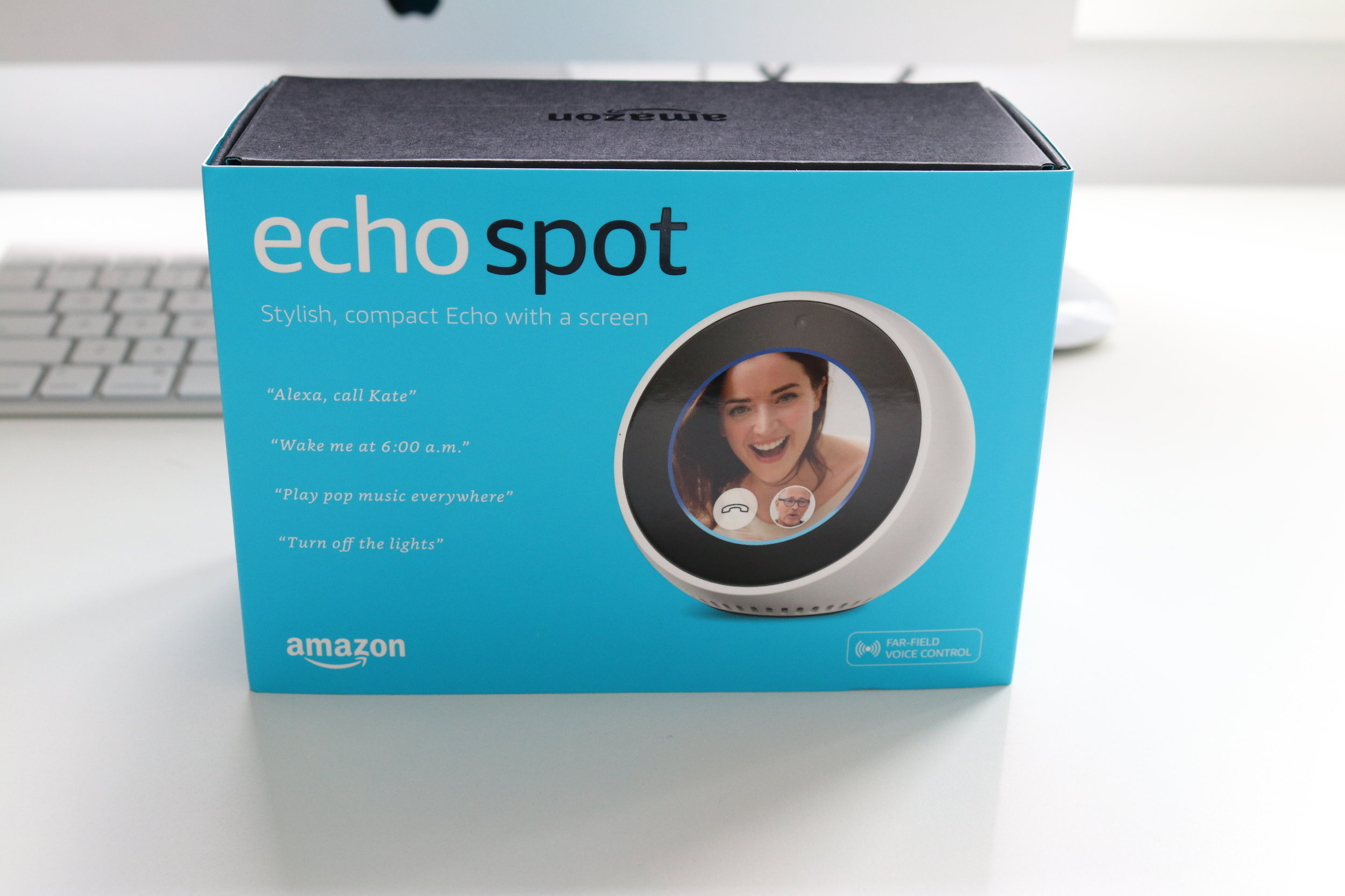 Amazon Alexa App Compatible  Amazon Echo Spot - Alexa With A Screen