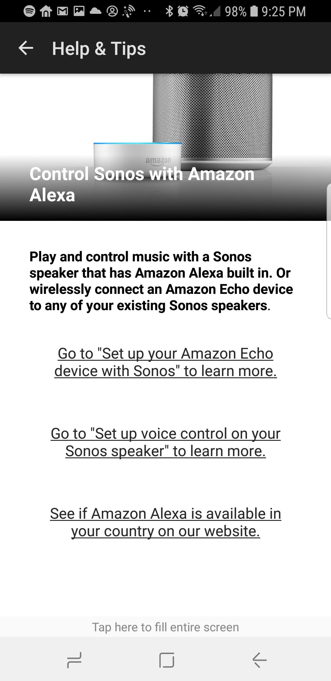 How to set up Sonos with Alexa