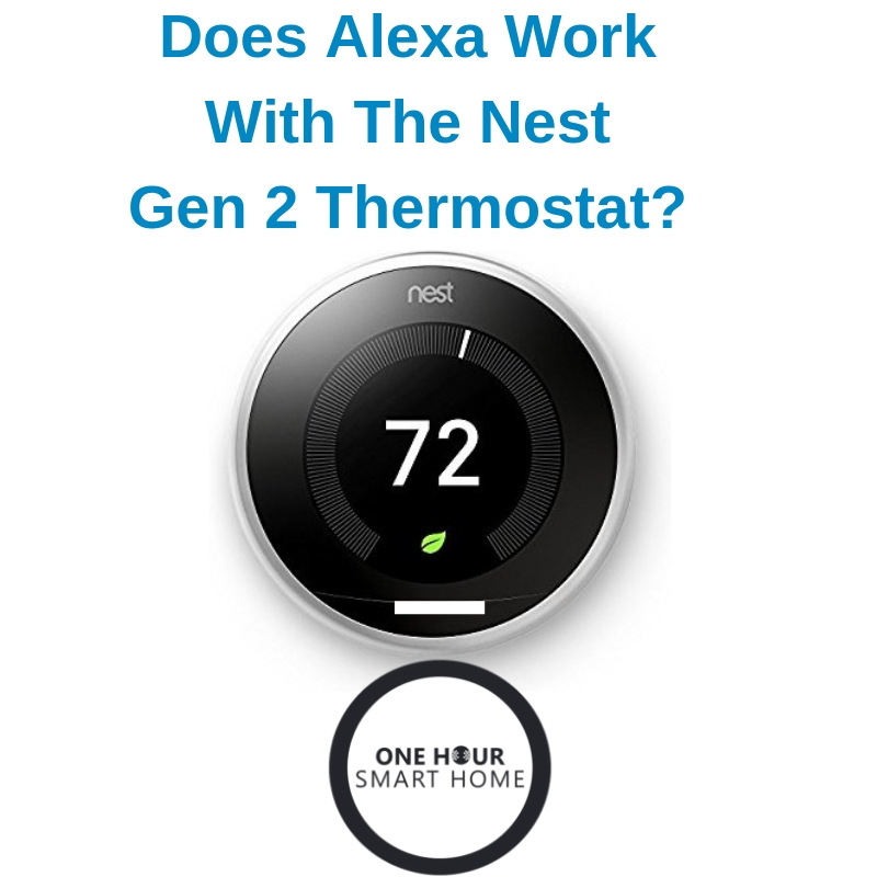 How to connect your nest thermostat to Alexa.