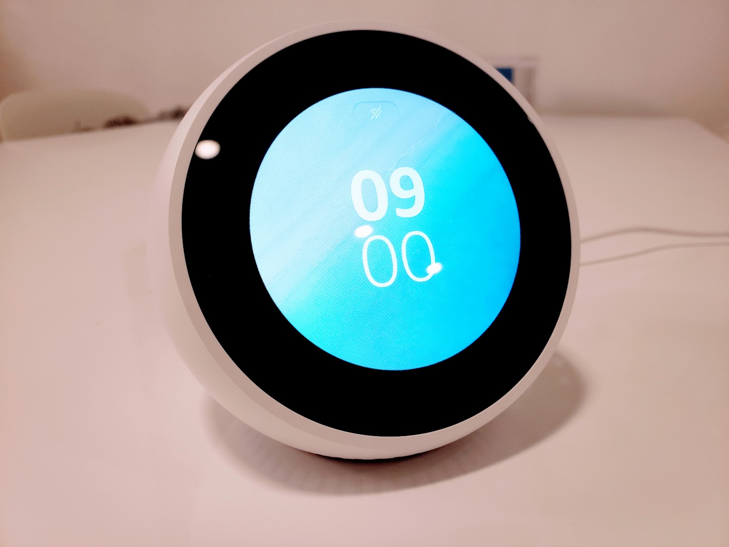 Echo Spot  Clock Face