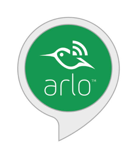 Arlo Works with with Alexa.  Enable the Arlo Skill on Amazon Alexa