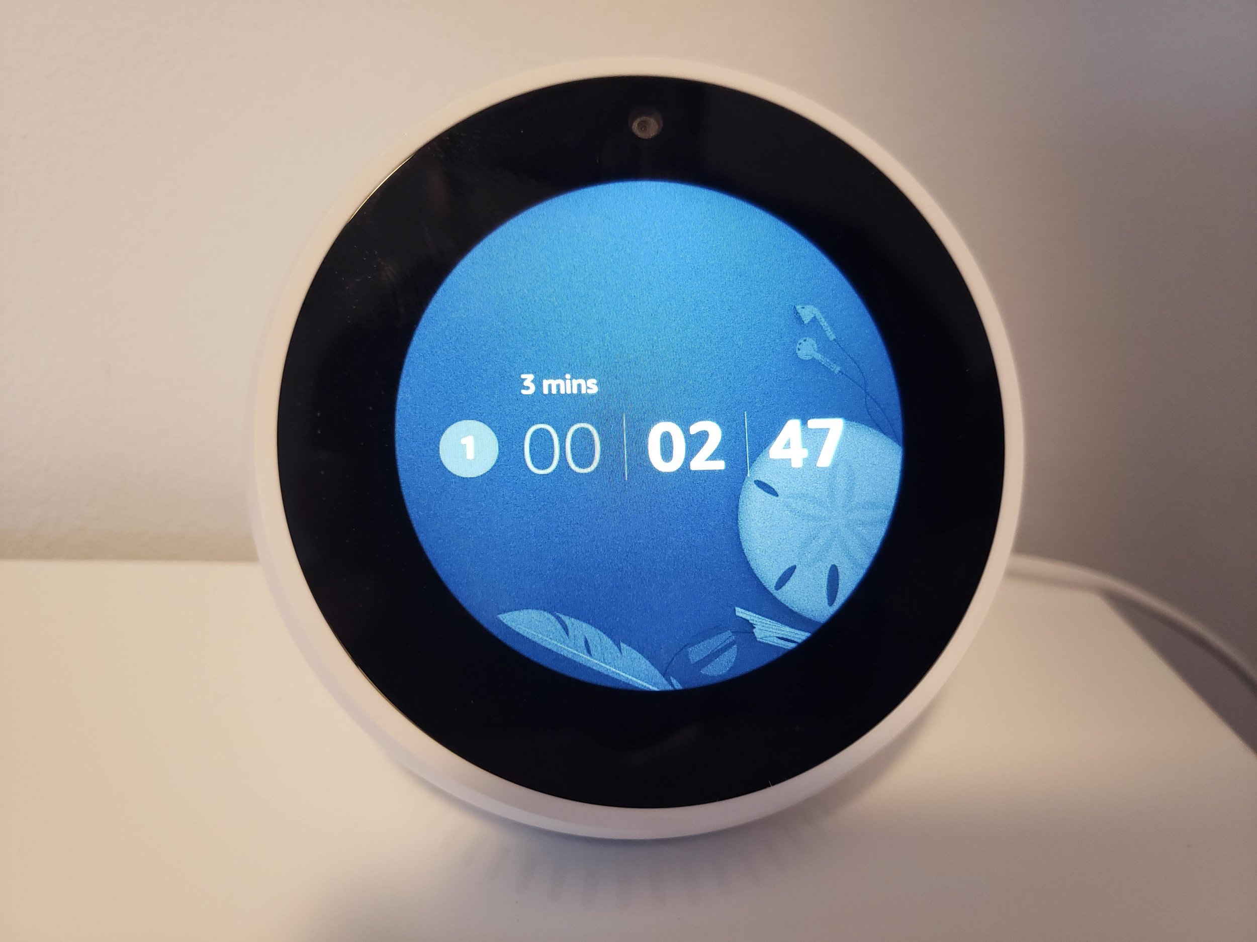Is Alexa Worth Buying? Timer on  Echo Spot
