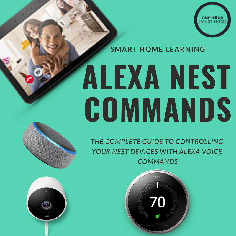 Alexa Nest Commands: The complete guide to all  nest smart home devices  that work with Alexa.