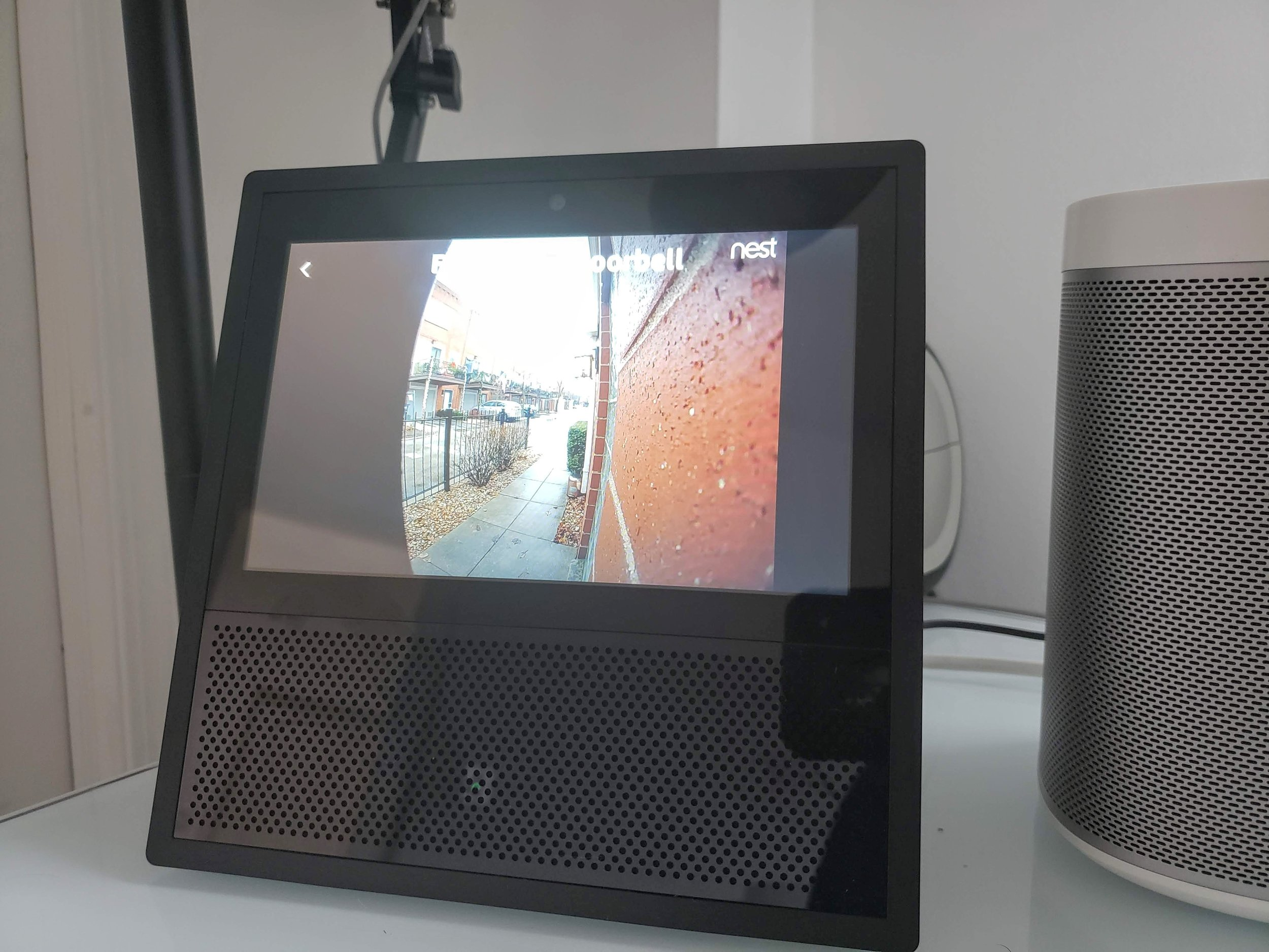 Nest Hello Review: Nest Hello Live Video feed on  Echo Show .