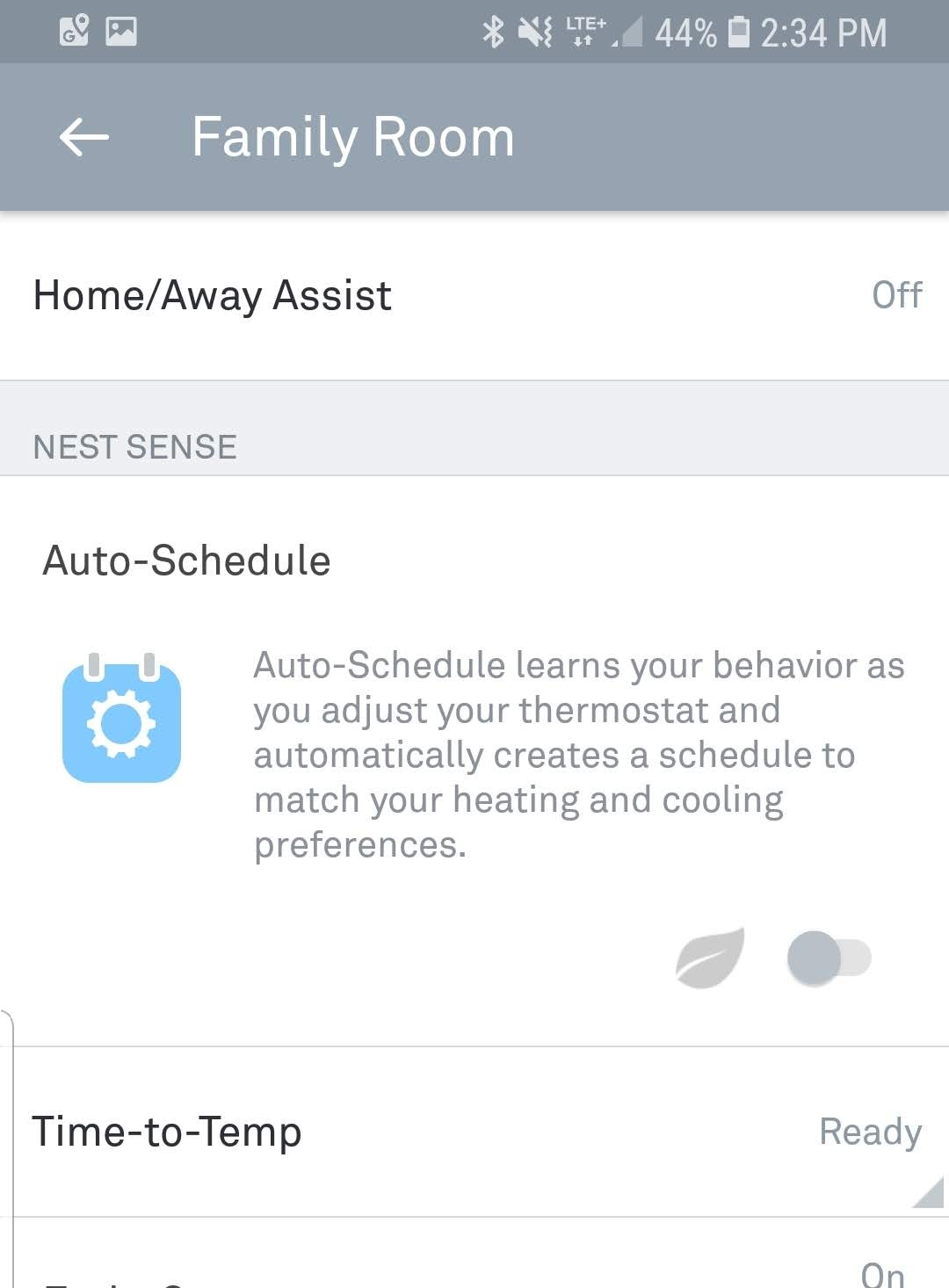 How to disable Auto Schedule on Nest Thermostat